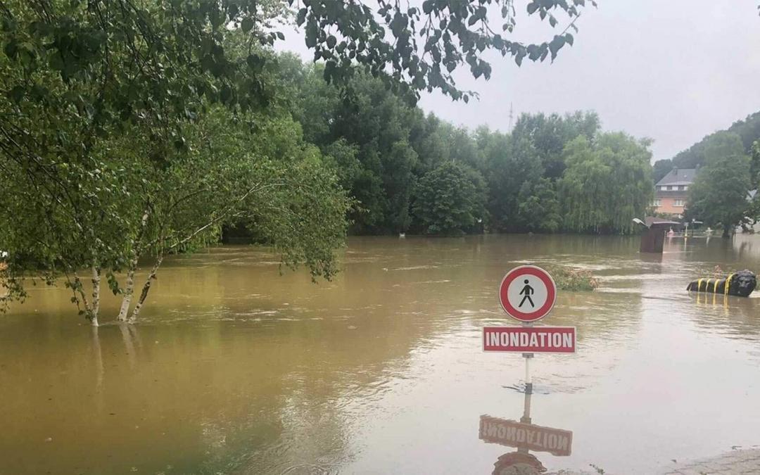 Chômage partiel en cas de force majeure pour inondations